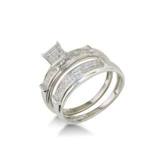 1/5ct Diamond Bridal Set