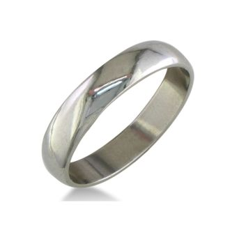 Classic 5mm Stainless Steel Wedding Band