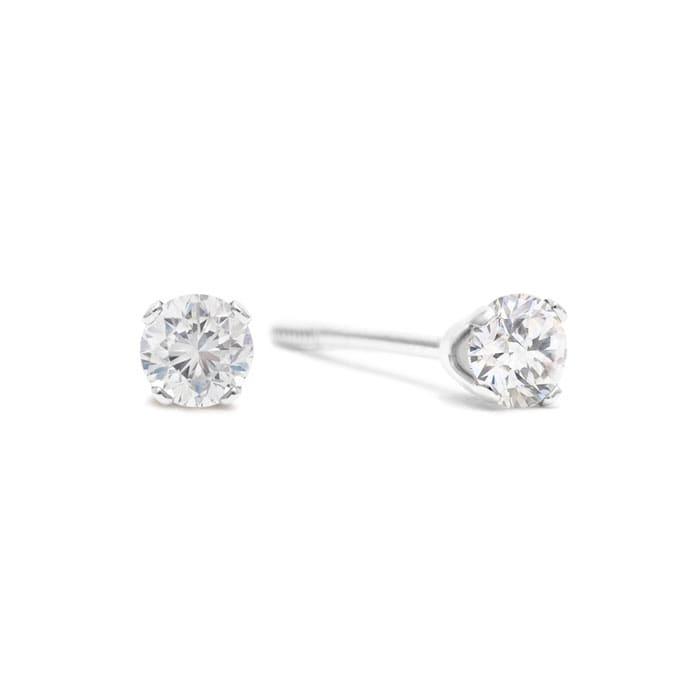 1 4ct Diamond Studs In White Gold
