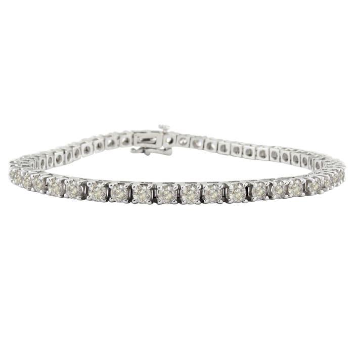 Tennis Bracelet Diamond 14k White Gold 6 Carat Best Jewelry Deals