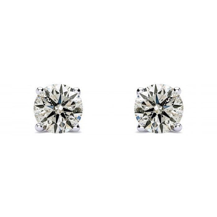 1/3ct Diamond Studs in 14k White Gold
