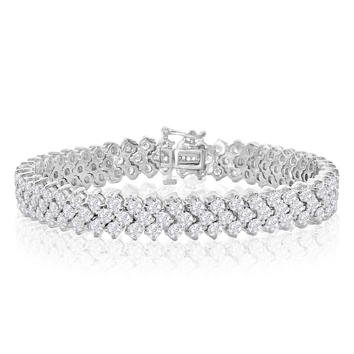 Tennis Bracelet 14k White Gold