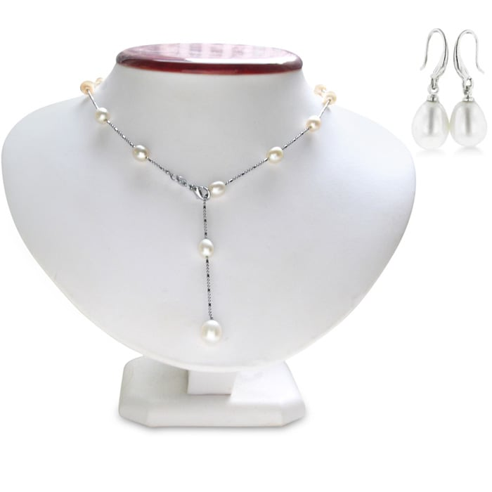 f1f731639 Pearl Necklace   June Birthstone   Pearls by the Yard Necklace ...