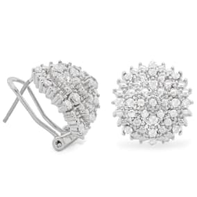Important and Fabulous Nearly 1/2 Carat Diamond Drop Earrings. Brand New Amazing Style!