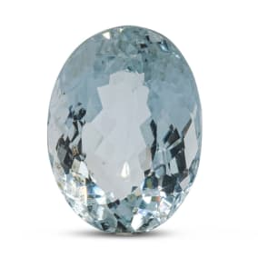 Previously Owned 10 Carat Oval Shape Aquamarine (15x12mm)