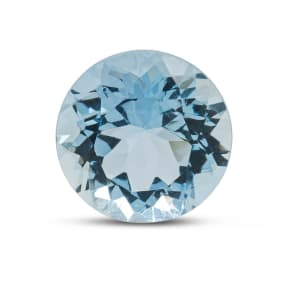 Previously Owned 5.96 Carat Round Shape Aquamarine (12mm)