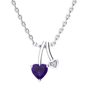 Fine Jewelry Sets Pear Cut Amethyst 14k Rose Gold Over Butterfly Pendant W/earrings Jewelry Set Cheap Sales 50%
