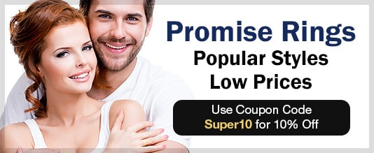 Promise Rings - Popular Styles - Low Prices