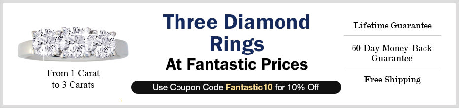 Three Diamond Rings
