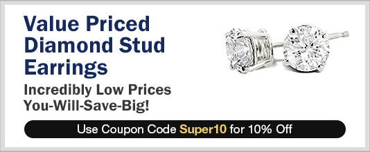 Value Priced Diamond Stud Earrings