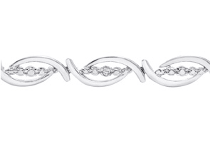 Diamond Flair Bracelet
