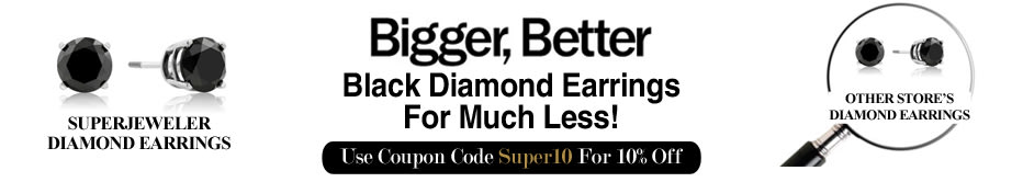 Bigger, Better Blue Diamond Earrings for Much Less!