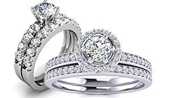 Diamond Bridal Sets