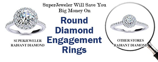 SuperJeweler Will Save You Big Money On Round Diamond Engagement Rings