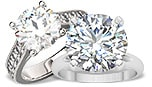 4 Carat Diamond Engagement Rings