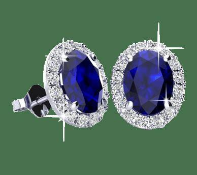 Gemstone Earrings From SuperJeweler