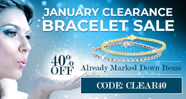 January Clearance Bracelet Sale - 40% Off Already Marked Down Items - CODE: CLEAR40