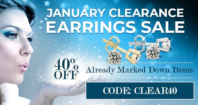 January Clearance Earrings Sale - 40% Off Already Marked Down Items - CODE: CLEAR40