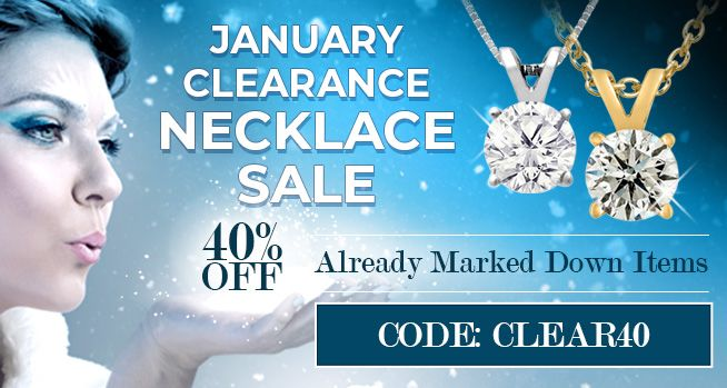January Clearance Necklace Sale - 40% Off Already Marked Down Items - CODE: CLEAR40