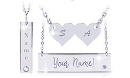 Personalized Necklaces In Sterling Silver