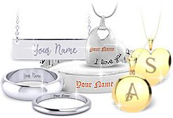 Personalized Jewelry from SuperJeweler