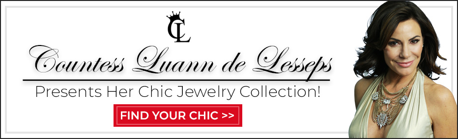 Countess Luann de Lesseps Presents Her Chic Jewelry Collection