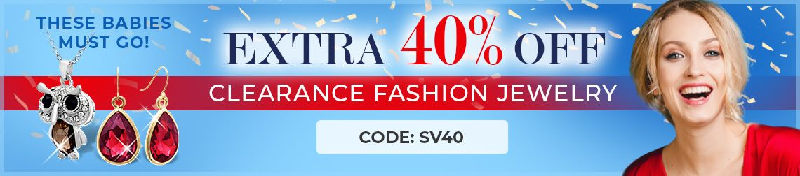 Extra 40% Off Clearance Items - These Babies Must Go! - Code: SV40 - Shop Now!