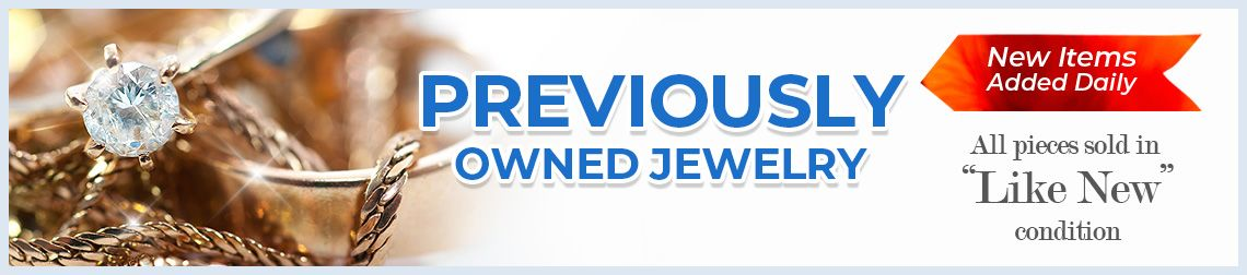 Previousely Owned Jewelry - New Items Added Daily - All pieces sold in