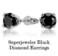 Superjeweler Blue Diamond Earrings
