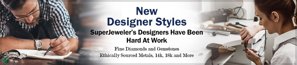 New Designer Styles from SuperJeweler.com