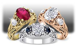 Vine Rings Collection