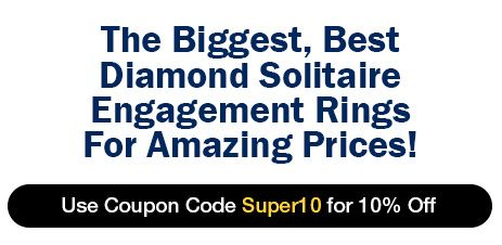 The Biggest, Best Diamond Solitaire Engagement Rings For Amazing Prices!