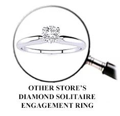 Other Store's Diamond Solitaire Engagement Ring
