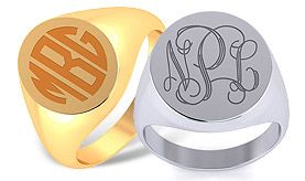 Men's Signet Rings