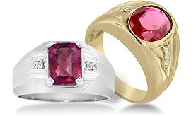 Men's Ruby Rings