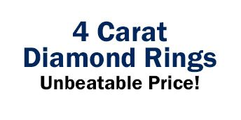 SuperJeweler Sells 4 Carat Diamond Engagement Rings at Unbeatable Prices
