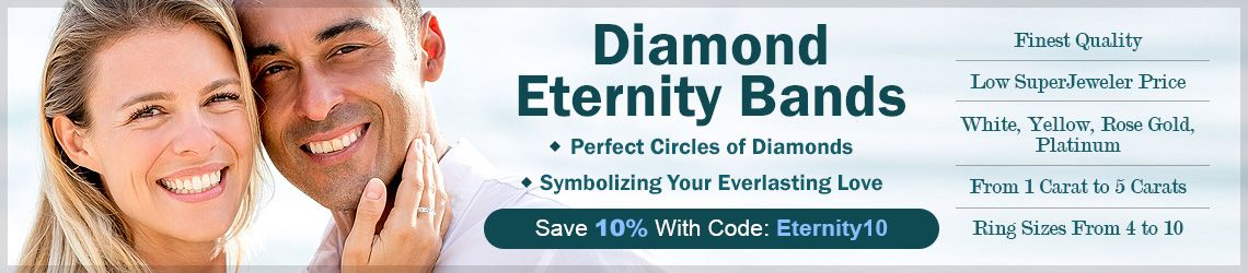 Diamond Eternity Bands - Perfect Circles of Diamonds - Symbolizing Your Everlasting Love