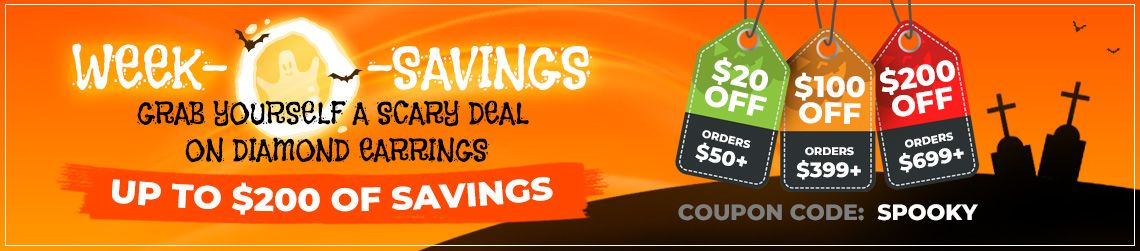 Week-O-Savings - Grab yourself a scary deal upto $200 of Savings - Coupon: Spooky