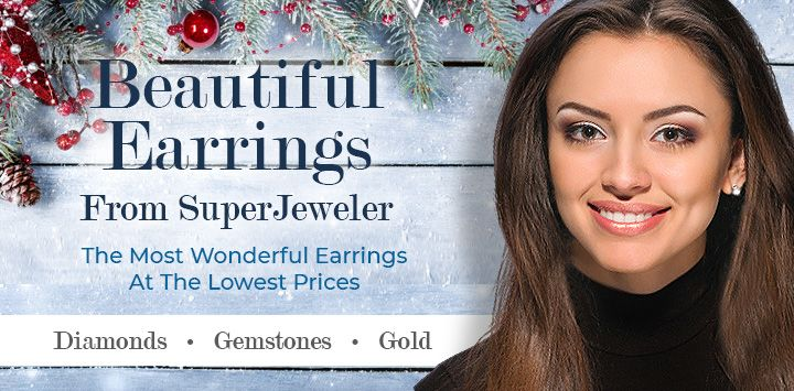 Beautiful Earrings From SuperJeweler, The Most Wonderful Earrings At The Lowest Prices