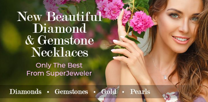 New Beautiful Diamond & Gemstone Necklaces - Only The Best From SuperJeweler!
