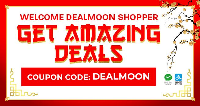 Welcome Dealmoon Shopper - Get Amazing Deals - Coupon code: Dealmoon