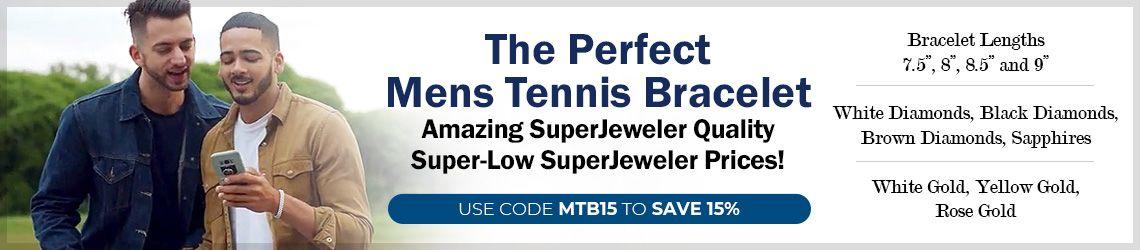 Mens Tennis Bracelets