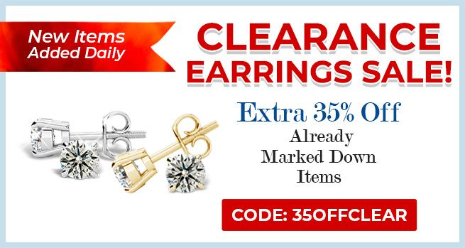 Clearance Earrings Sale - 35% Off Already Marked Down Items - CODE: 35OFFCLEAR