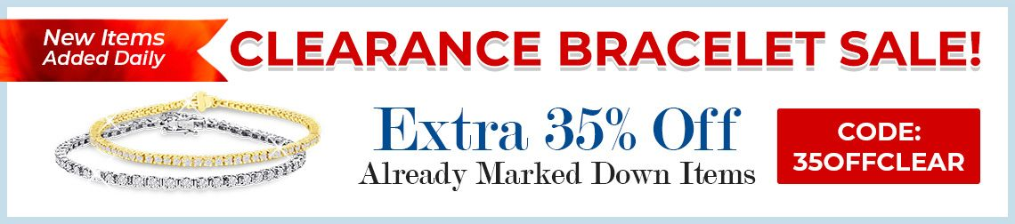 Clearance Bracelet Sale - 35% Off Already Marked Down Items - CODE: 35OFFCLEAR