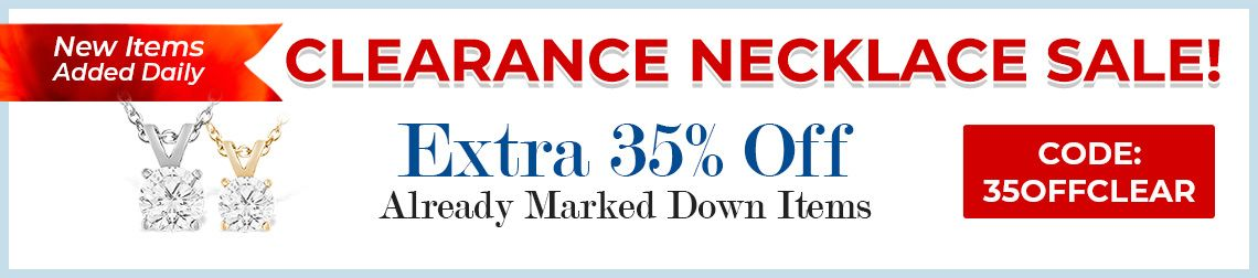 Clearance Necklace Sale - 35% Off Already Marked Down Items - CODE: 35OFFCLEAR
