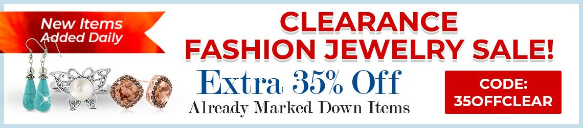 Clearance Fashion Jewelry Sale - 35% Off Already Marked Down Items - CODE: 35OFFCLEAR