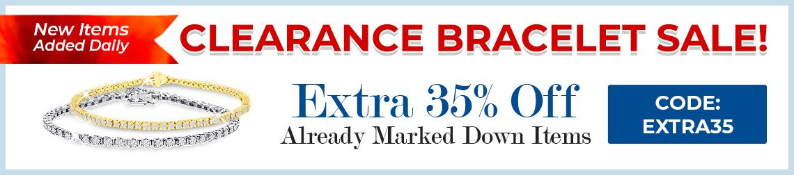 Clearance Bracelet Sale - 35% Off Already Marked Down Items - CODE: Extra35