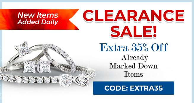 Clearance Sale. 35% Off Already Marked Down Items. CODE:Extra35
