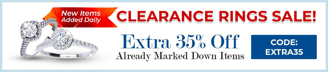 Clearance Rings Sale - 35% Off Already Marked Down Items - CODE: Extra35