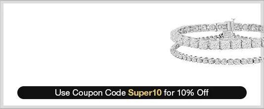 7.5 Inch, 8 Inch, 8.5 Inch, & 9 Inch Diamond Bracelets